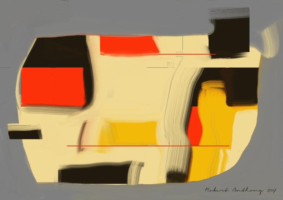 Red Vase Chine (for LB) -Robert Anthony 2017
