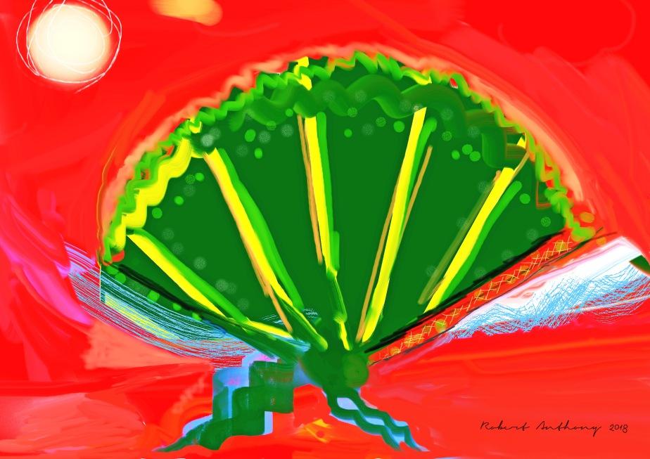 The Green Fan (recuerdo de España)